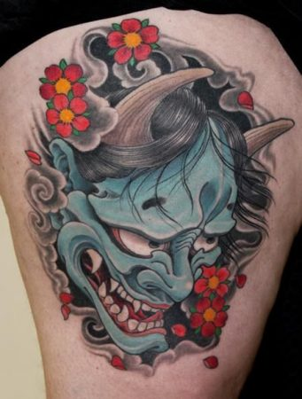 tattoo mascaras hannya