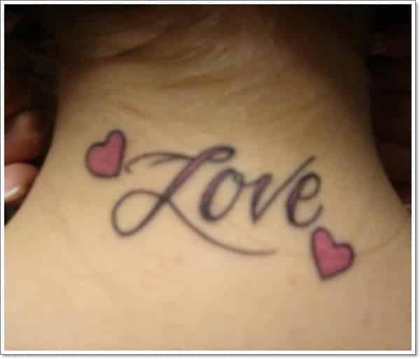 tatuaje de amor para chicas