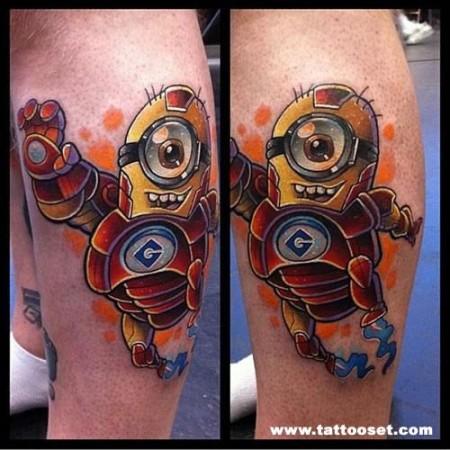 tatuaje-de-iron-man-minions