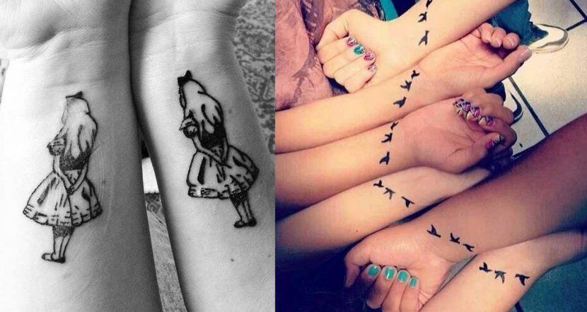 tatuajes cuatro amigas