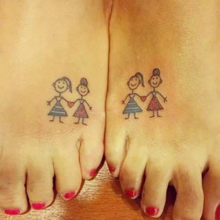 tatuajes de amistad para mujeres