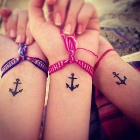 tatuajes de mejores amigas