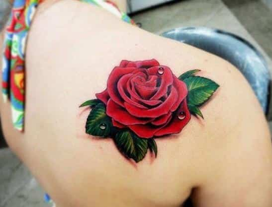 Tatuajes de Rosas Pequeñas