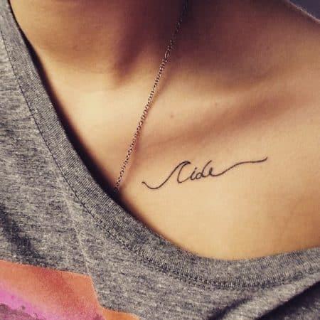 tatuajes en la clavicula frases
