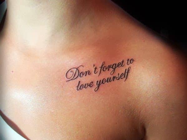 tatuajes en la clavicula palabras