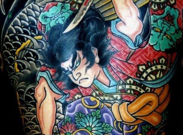 tatuajes guerreros suikoden