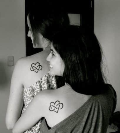 tatuajes para amigas omoplato