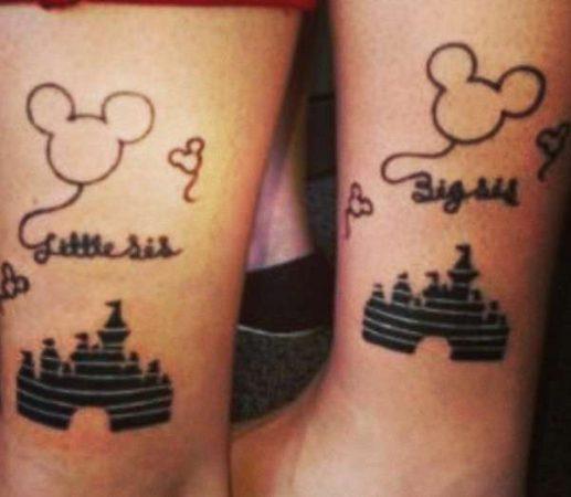 tatuajes para hermanas disney