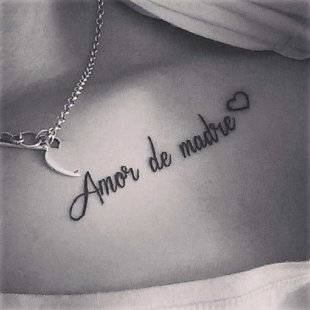 tatuajes para mujeres delicados frase amor