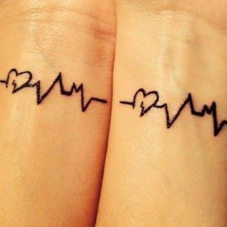 tatuajes solo para mejores amigas