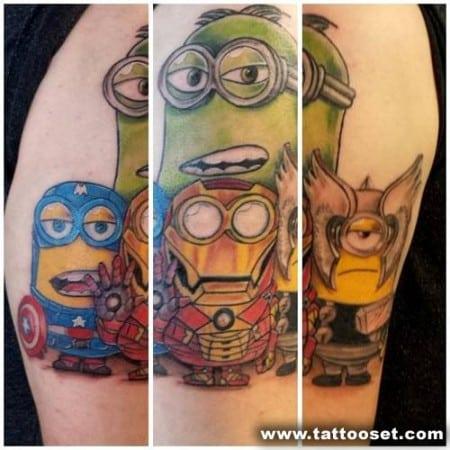 the-avengers-minions-tattoo