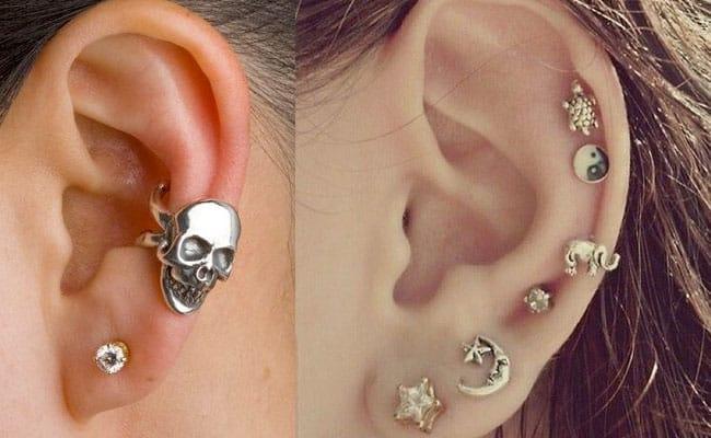 tipos de piercing en la oreja 1