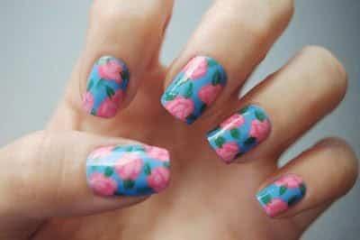 uñas para pintar nail art