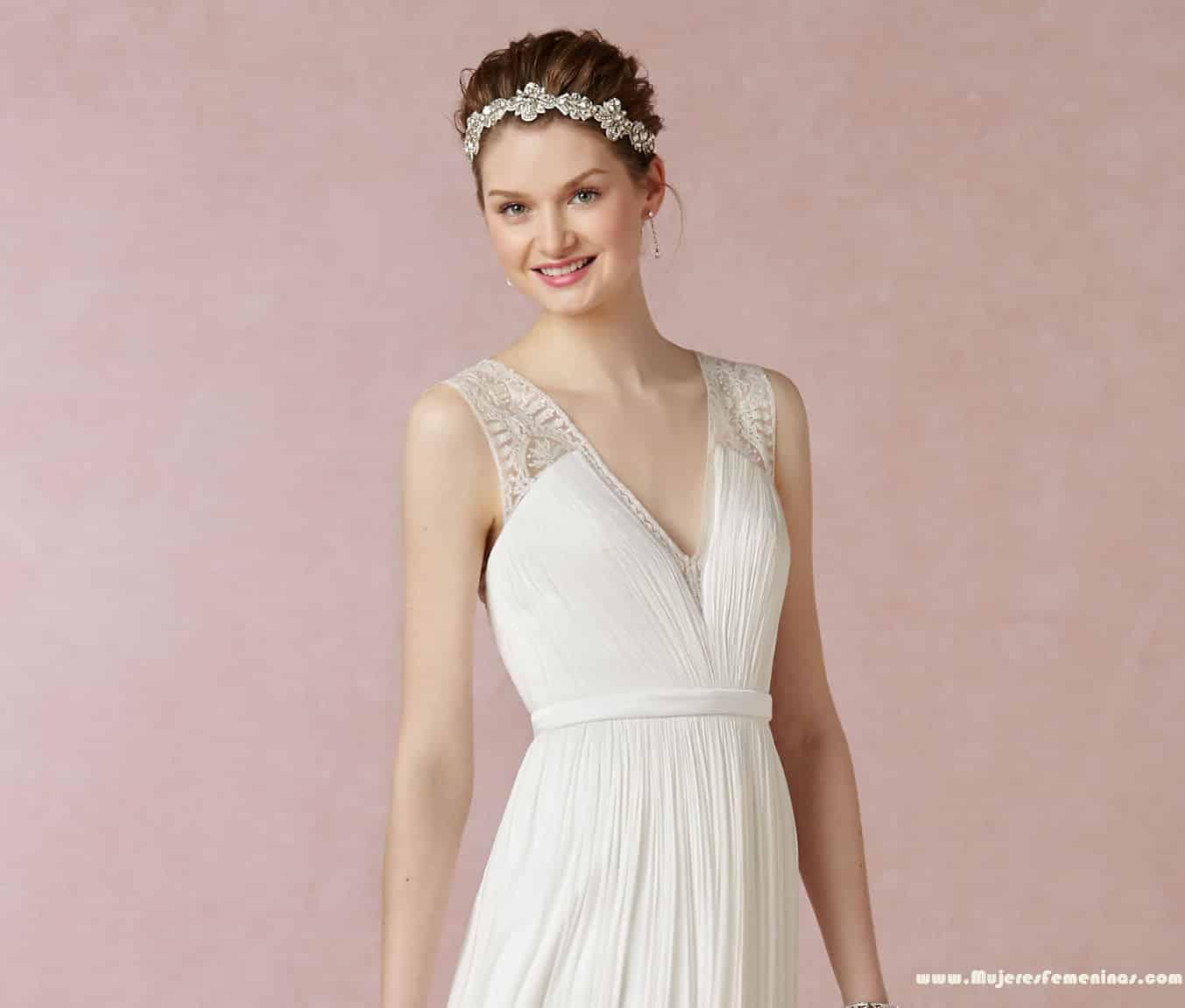 Vestidos largos para boda civil 2016