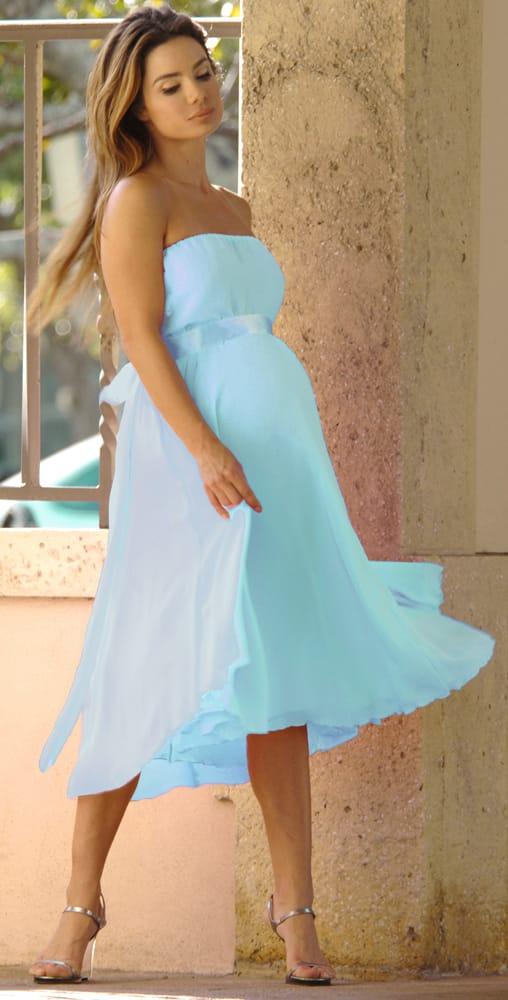 vestido de fiesta para embarazadas