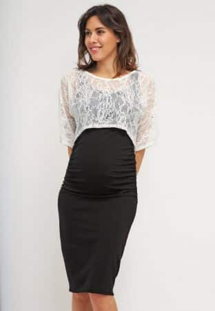 vestidos ajustados embarazadas