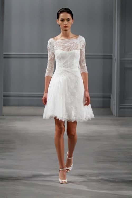 Vestidos de novia informales para civil