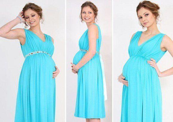 vestidos de fiesta dia y noche para mujeres embarazadas 2014 modelos de tiffany rose modelos de noche e1396962278726