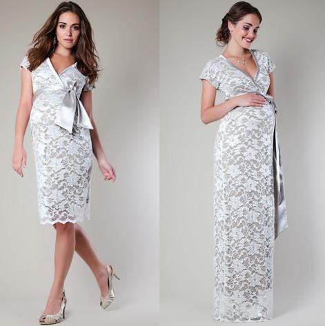 vestidos de fiesta dia y noche para mujeres embarazadas 2014 modelos de tiffany rose