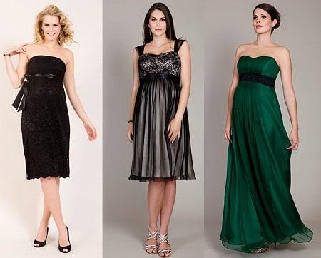vestidos de fiestas para gestantes2