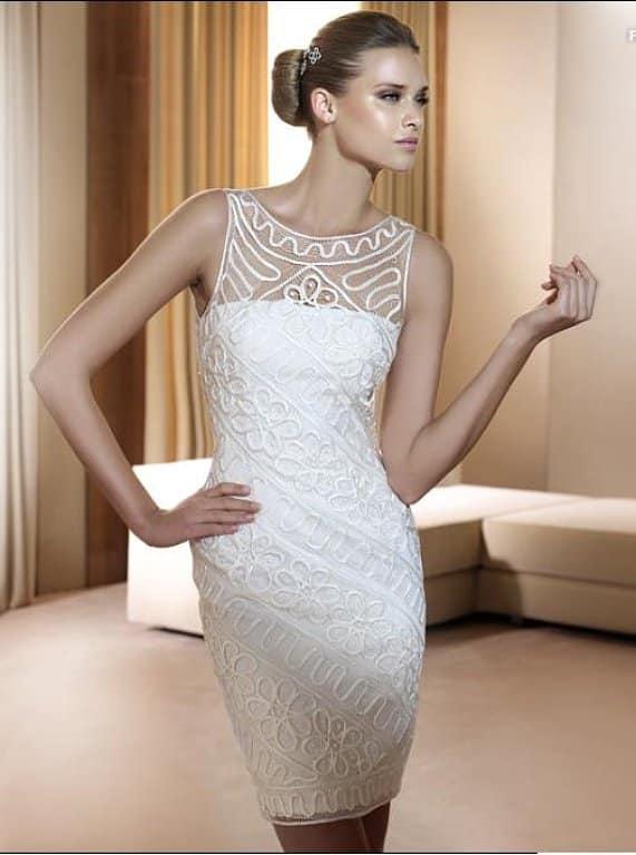 Imagenes de vestidos cortos para boda civil