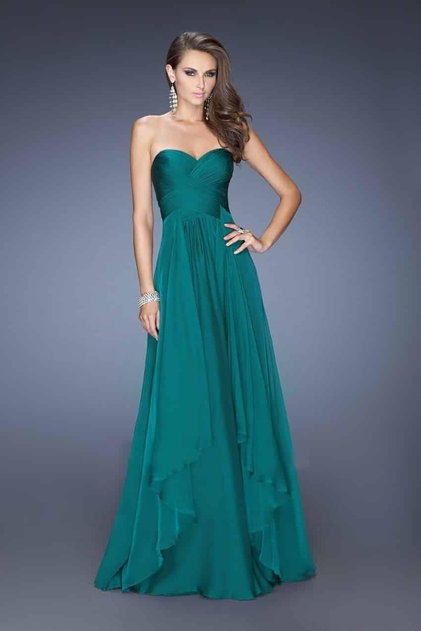 Tipos de vestidos largos de noche
