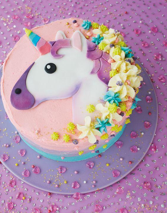 los mejores disenos en pasteles de unicornios 1